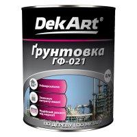 Грунтовка ГФ-021 ТМ «DekArt»