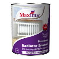Эмаль алкидная для радиаторов отопления  «Maxima»